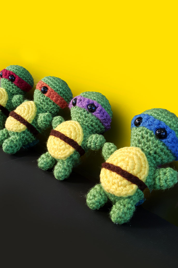 TMNT Crochet Craft