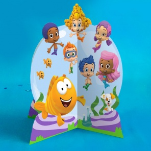 Bubble Guppies Tailfin Table Topper