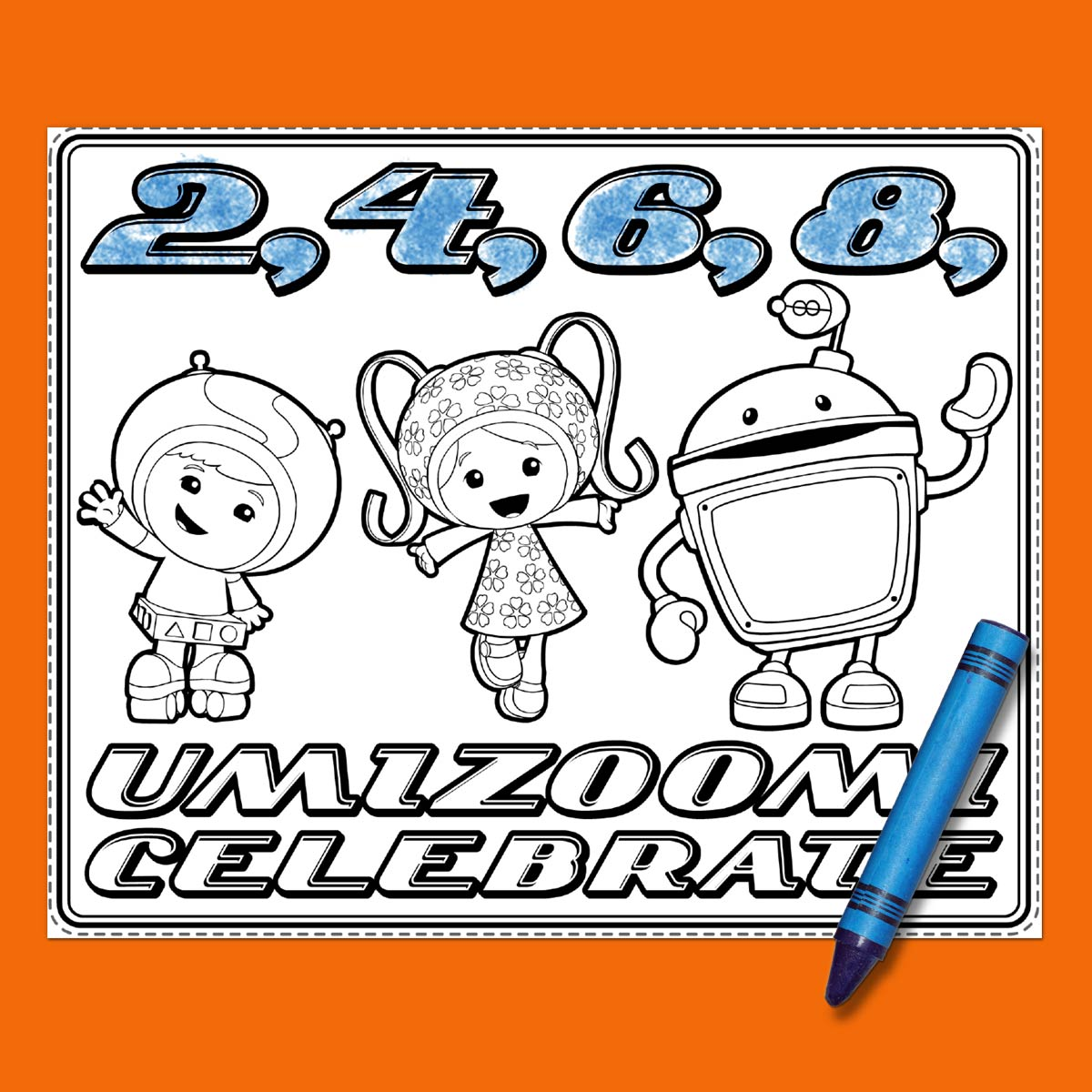 Umizoomi Party Placemat