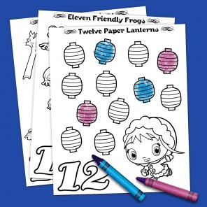 12 Days of Christmas Coloring Fun!