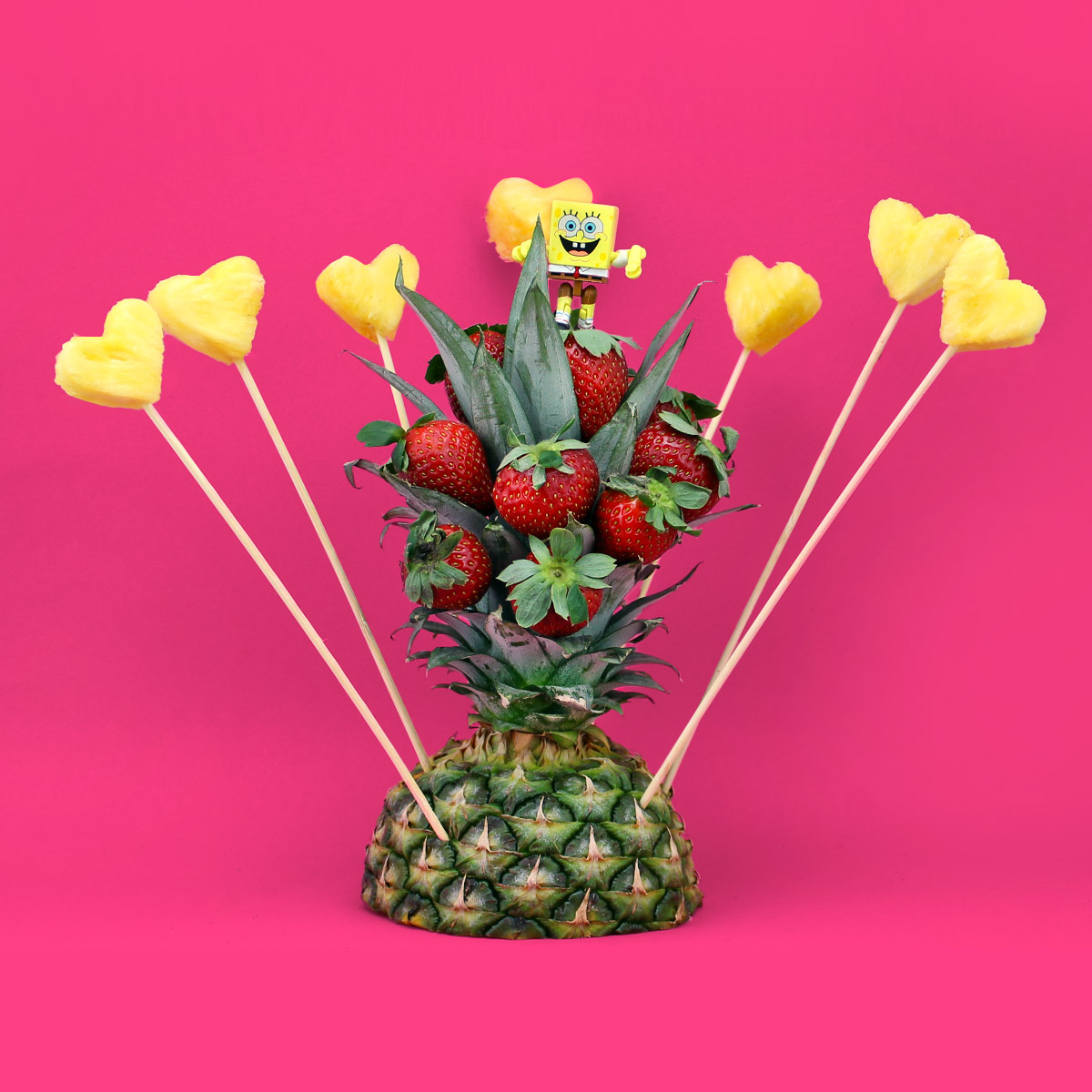 SpongeBob Pineapple Arrangement