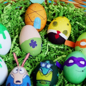 DIY Nickelodeon Easter Eggs