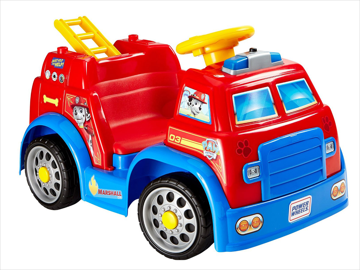 15 Birthday Gift Ideas for Preschoolers - PAW Patrol Fire Truck
