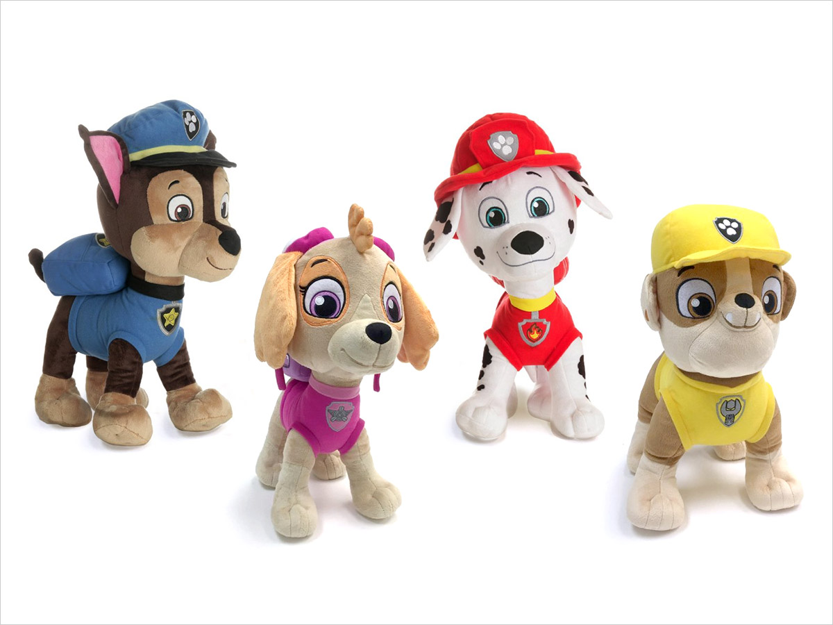 15 Birthday Gift Ideas for Preschoolers - PAW Patrol Cuddle Pillows