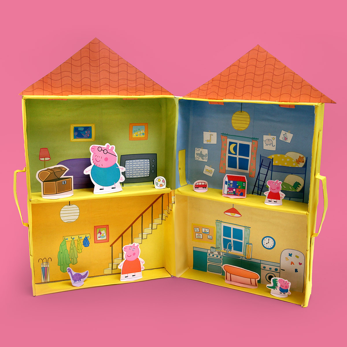 Peppa Pig Puppet Playhouse