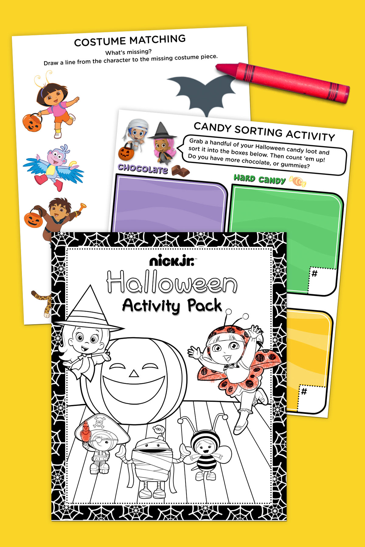 Nick Jr. Halloween Activity Pack