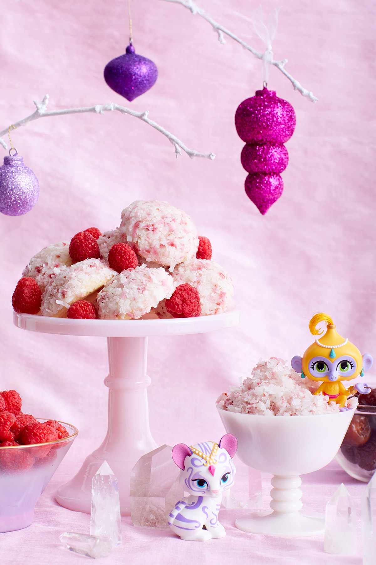 Shimmer and Shine Snowball Cookies