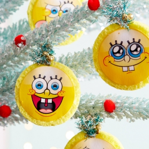 SpongeBob Sponge Ornaments