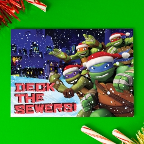 TMNT Holiday Card