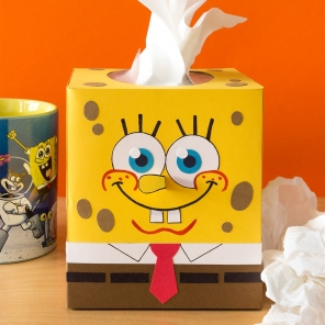 SpongeBob Tissue Box