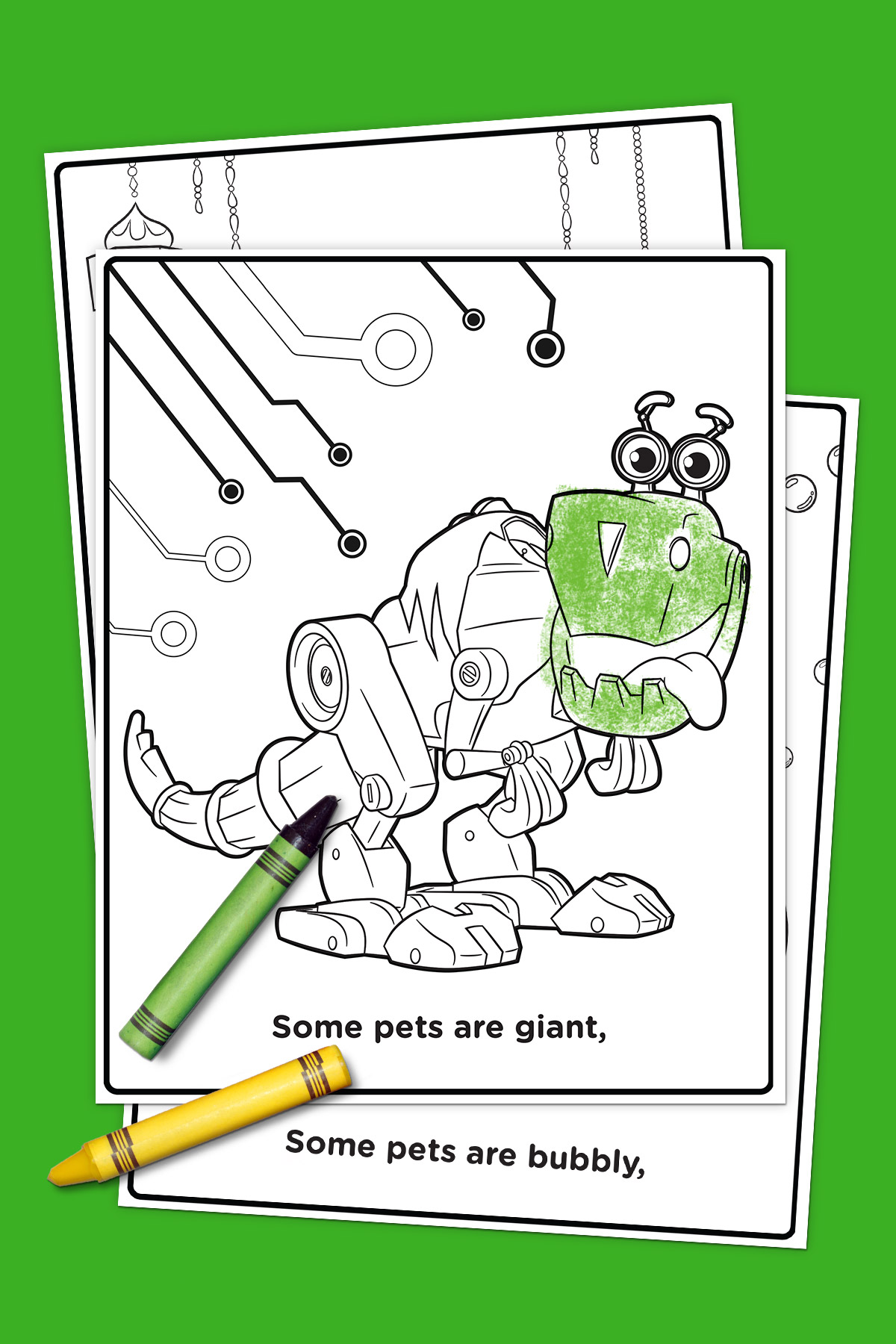 Pets of Nick Jr. Coloring Pack
