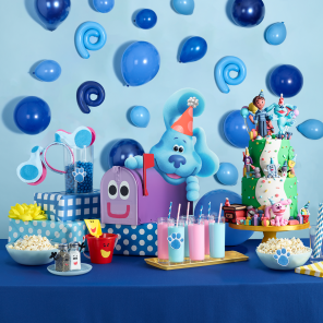 Throw a Blue's Clues & You! Party