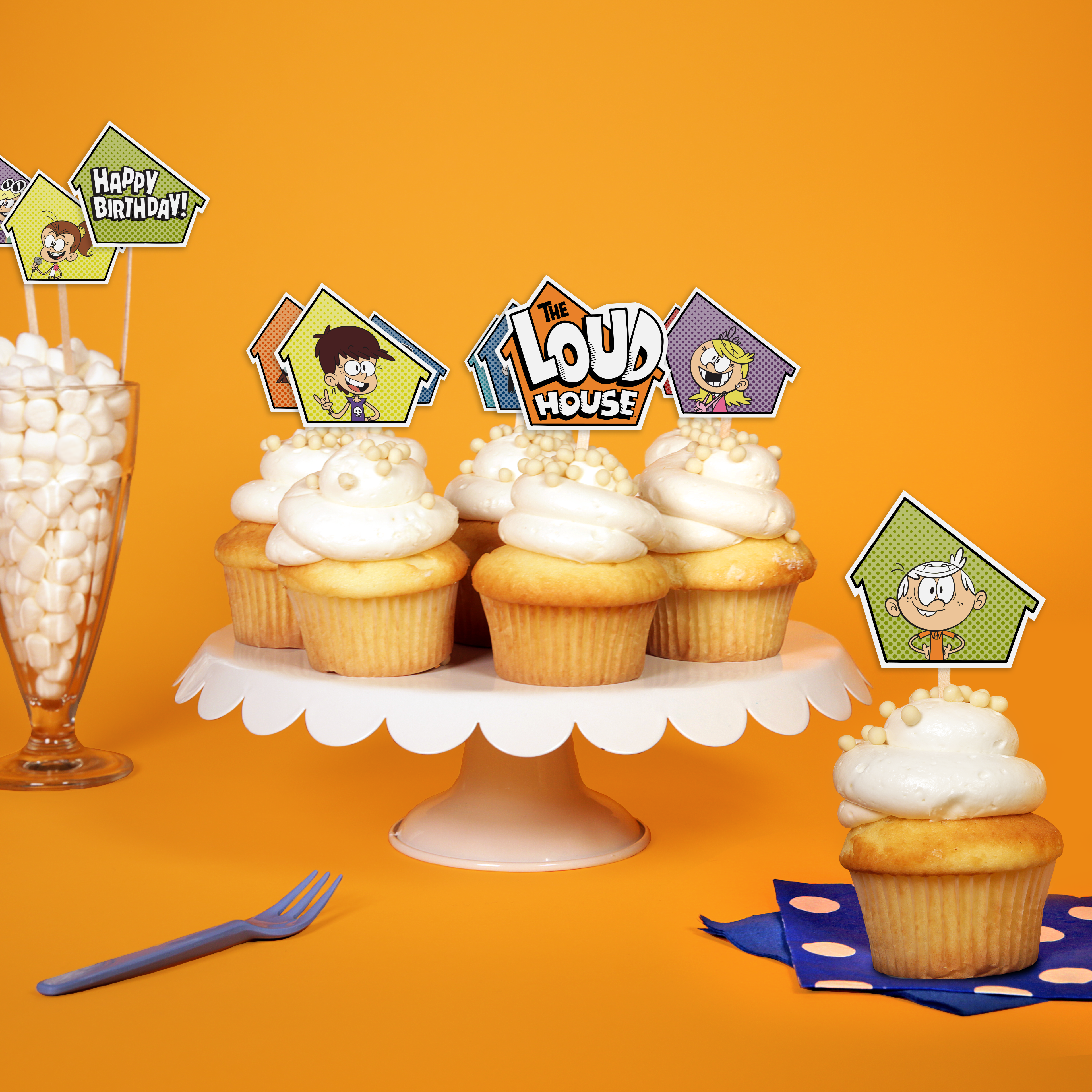 Loud House Cupcake Toppers