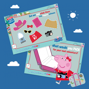 Peppa Travels to America!
