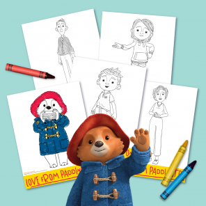 Color. Love. From Paddington Bear