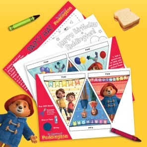Make a Paddington Birthday Banner